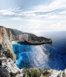 Navagio in Zakynthos, Greece