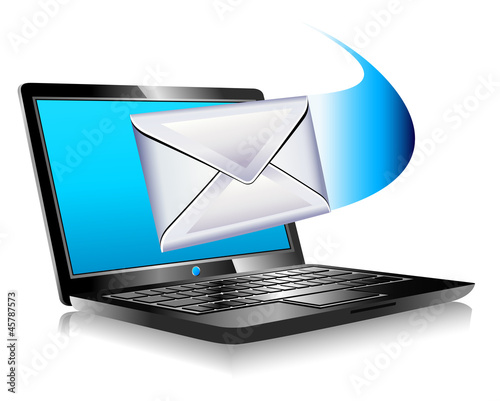 email mailing the world SMS marketing Laptop