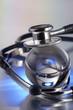 stethoscope on metal deck