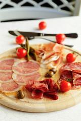 assorted italian meat