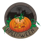 halloween label