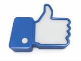 Like. Thumb up sign