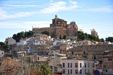 Vista del Castillo-Santuario de Caravaca de la Cruz