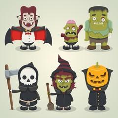 Halloween based caracter