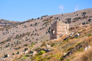 Genoes (Chembalo) fortress in Balaklava, Crimea, Ukraine