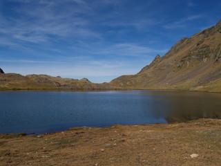 Lac du lavedan, pyrénées