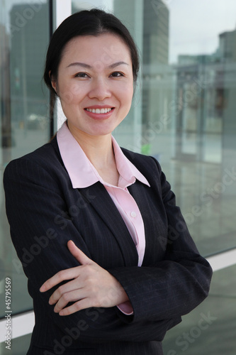 Pretty Chinese Business Woman