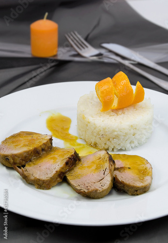 Filete caramelizado
