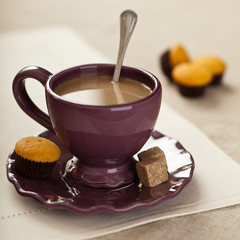 Kawa z muffinkami