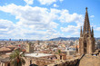 The view from the top of Barcelona Cathedral