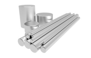 Rods of steel