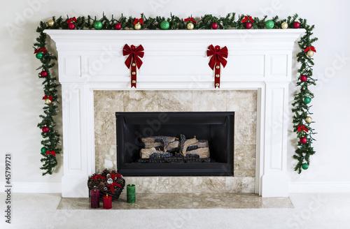 Holiday Fireplace