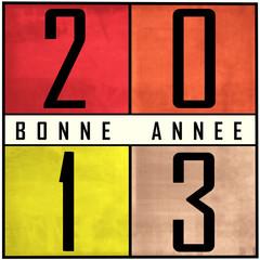 Carte bonne année 2013