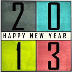 Carte bonne année 2013 en anglais