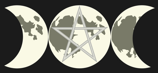 Symbol of The Triple Goddess