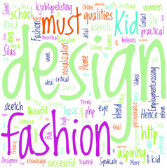 How To Become A Fashion Designer When You Are A Kid Concept