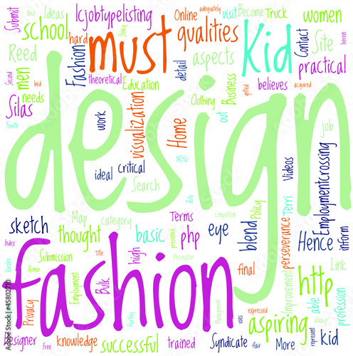How To Become A Fashion Designer When You Are A Kid