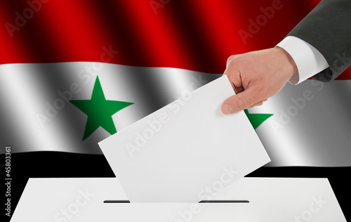 The Syria flag