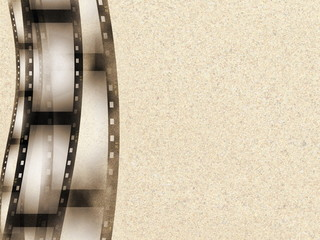 sepia film roll background