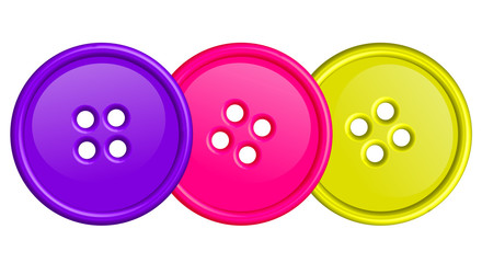 illustration of colorful buttons