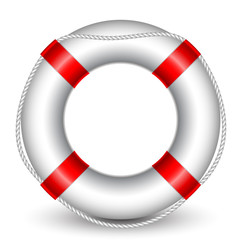 Vector illustration of Life Buoy