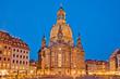 Dresdner Frauenkirche am Abend