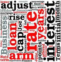 Terms And Benefits Of A 5 Year Adjustable Rate Mortgage Concept