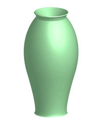 Vector illustration of vase