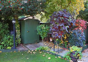 An English Garden in early Autumn