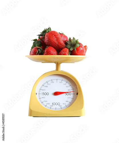 Strawberry Weighing