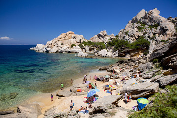 Strand Sardinien Capo Testa