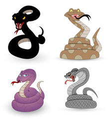 Set of Snakes Vectors