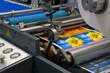 canvas print picture - Rollenoffsetdruck