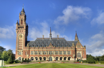Peace Palace in Holland