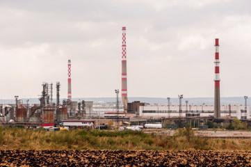 Petrol industry, equipment installation