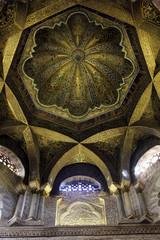Cúpula del mihrab de la mezquita de Córdoba - España
