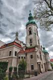 Lutheran church in Pszczyna poster