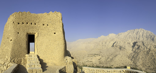 arabian fort in ras al khaimah