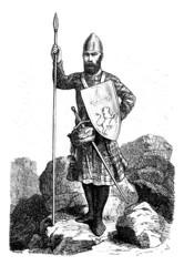 Proud Scottish Warrior - 13th century