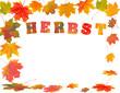 Herbst und Blätterfall