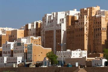 Shibam city, Yemen