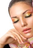 Beautiful Woman Face. Perfect Makeup - 45825940