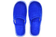 Pair of blue house slippers