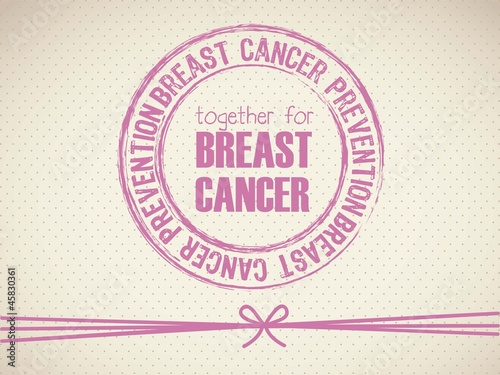breast cancer seal