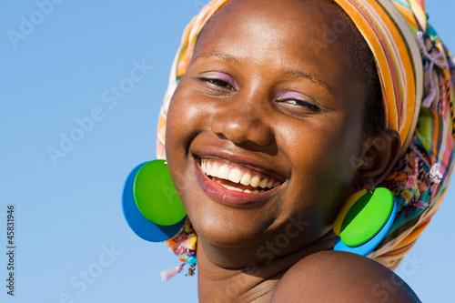 Fototapeten,afrikanisch,frau,schwarz,jung