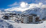 Fototapety Mountain ski resort Hochgurgl Austria