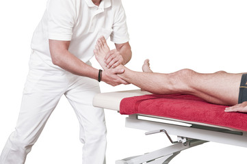 Osteopathische Behandlung isolated
