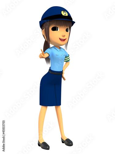 """女性警察官""""(作者:3103jp"""