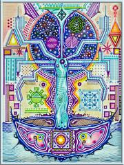 Abstract talisman