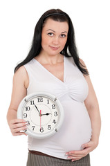 Pregnant belly clock